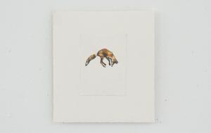 Keres - watercolor and gouache, 12 x 9cm, SOLD